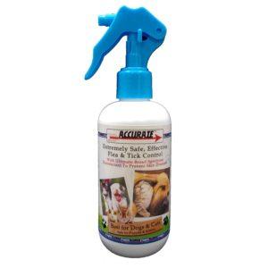 Accurate Flea & Tick Control Spray 250ml AC001