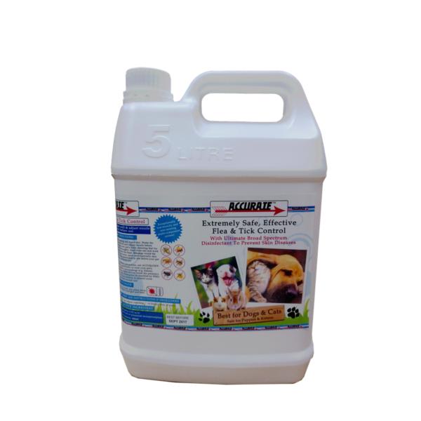 Accurate Flea & Tick Control Spray 5L AC003