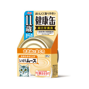 Aixia Kenko-can >11yrs old Chicken Fillet & Tuna Mousse 40g AXKCE11