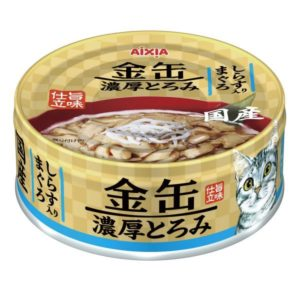 Aixia Kin-can Rich – Tuna w/Whitebait 70g AXGCT2