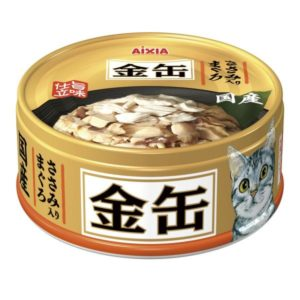 Aixia Kin-can mini Tuna w/Chicken 70g AXGCM34
