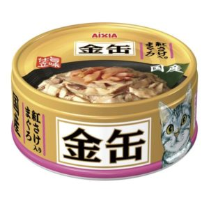 Aixia Kin-can mini Tuna w/Salmon 70g AXGCM33