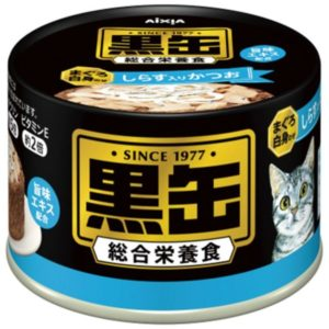 Aixia Kuro-can Skipjack with WhiteMeat&Whitebait 160g AXBTK2