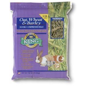 Alfalfa King Oat, Wheat & Barley Hay 16 oz AK30001