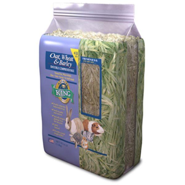 Alfalfa King Oat, Wheat & Barley Hay 4 lb AK30002