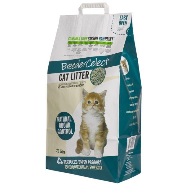 Breeder Celect BC Cat Litter – 20 Litres FC12