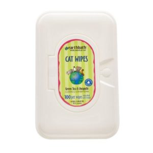 Earthbath Cat Green Tea Wipes EB036