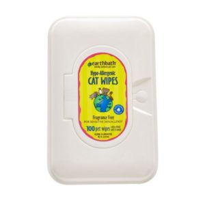 Earthbath Cat Hypo-Allergenic Wipes EB034