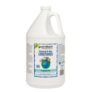 Earthbath Oatmeal & Aloe Conditioner Fragrance Free – 1 gallon EB014A