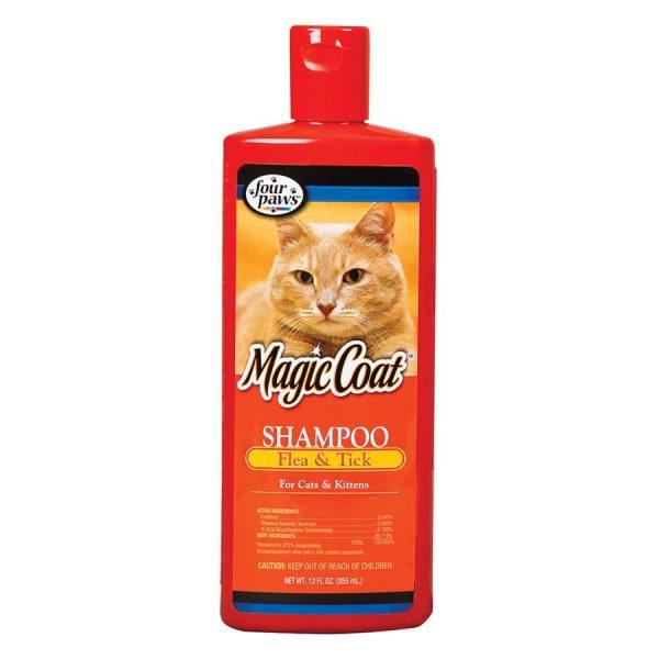 Four Paws Flea & Tick Shampoo for CATS 12oz FP526849