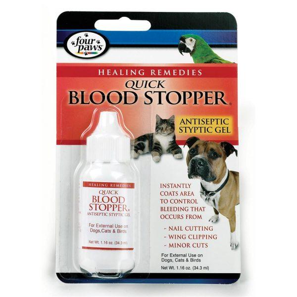 Four Paws Quick Blood Stopper Gel 1.16oz FP523274