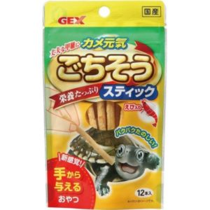 GEX AQ Turtle Happy Food Sticks (12pc) GX030009