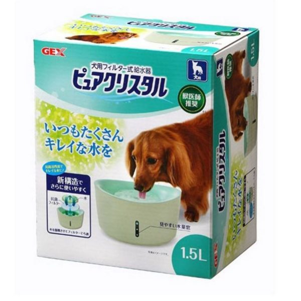 GEX PET Pure Crystal 1.5L for DOG (S) GX924551
