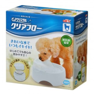 GEX-Pet Pure Crystal Cage (Clear Flow) DOG White GX923943