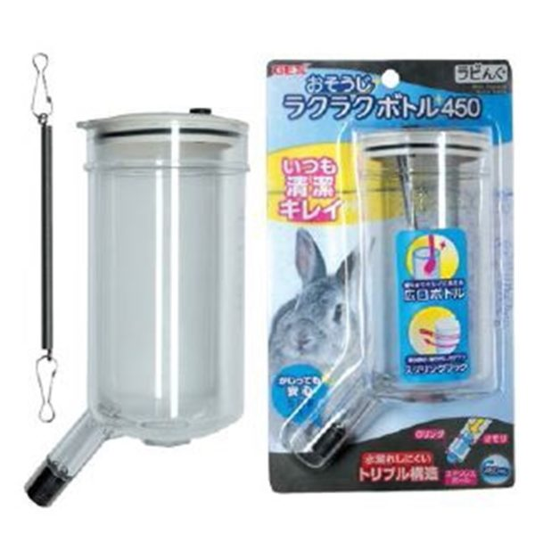 GEX-Pet Wide Water Bottle 450cc AB65122