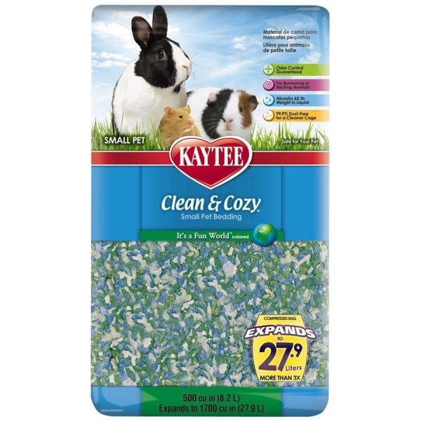 Kaytee Clean & Cozy Fun World 500 cu in KT521761