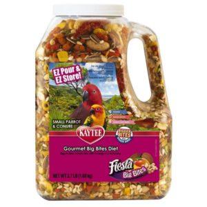 Kaytee Fiesta Big Bites Parrot Jar 3.75lb KT521775