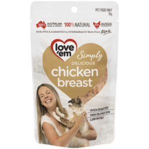 Love'em Chicken Breast for CATS – 35g LE511