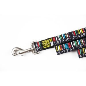 Max & Molly Barcode Short Leash M MM102007