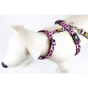 Max & Molly Leopard Pink Harness L MM120016