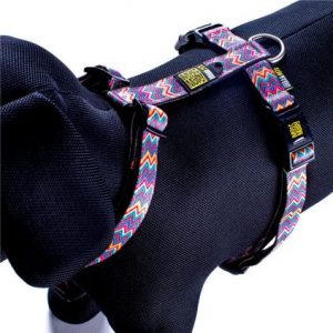 Max & Molly Vintage Pink Harness M MM139015