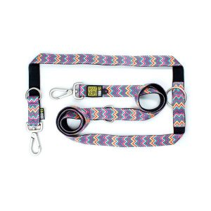 Max & Molly Vintage Pink Mult-Func Leash L MM139012