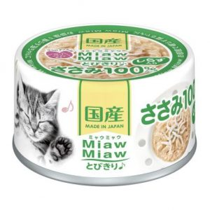 Miaw Miaw – Chicken with Whitebait 60g AXMT6