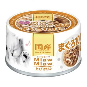 Miaw Miaw – Tuna with Chicken Fillet 60g AXMT2