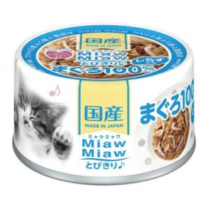 Miaw Miaw – Tuna with Whitebait 60g AXMT3