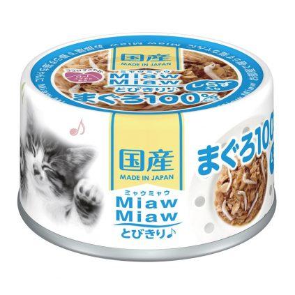 Miaw Miaw – Tuna with Whitebait 60g AXMT3