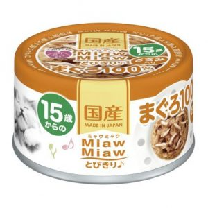 Miaw Miaw 15yrs – Tuna & Chicken Fillet 60g AXMT8