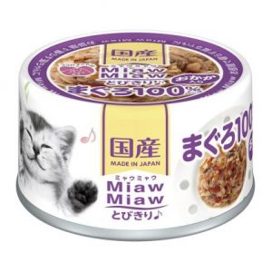 Miaw Miaw -Tuna with Dried Skipjack 60g AXMT4