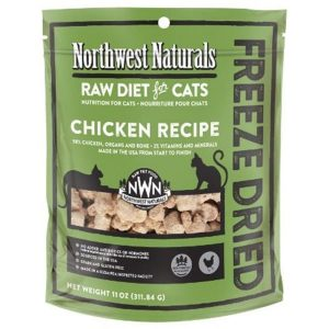 Northwest Natural Chicken Freeze Dried Nibbles 11oz NW611