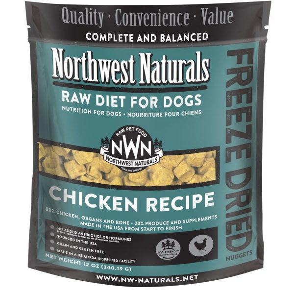 Northwest Natural Chicken Freeze Dried Nuggets NW131