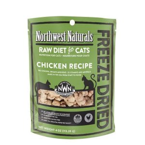 Northwest Natural Chicken FreezeDried Nibbles 4oz NW601