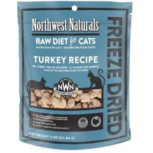 Northwest Natural Turkey Freeze Dried Nibbles 11oz NW612