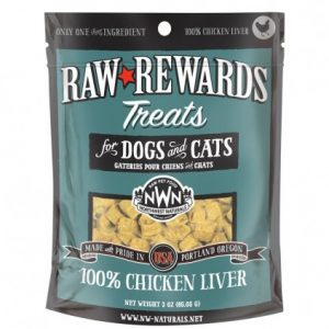 Northwest Naturals Chicken Freeze-Dried Liver Treats 3oz NW201