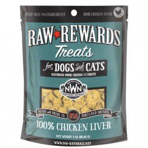 Northwest Naturals Chicken Freeze-Dried Liver Treats 3oz NW201