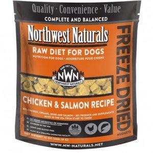 Northwest Naturals Chicken & Salmon Freeze-Dried Diet Nuggets 12oz NW101