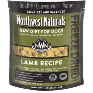 Northwest Naturals Lamb Freeze-Dried Diet Nuggets 12oz NW121