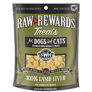 Northwest Naturals Lamb Freeze-Dried Liver Treats 3oz NW202
