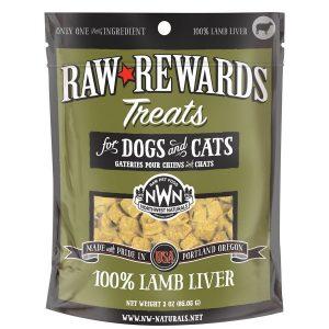 Northwest Naturals Lamb Freeze-Dried Liver Treats 3oz NW202