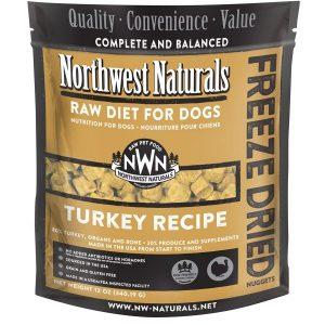 Northwest Naturals Turkey Freeze-Dried Diet Nuggets 12oz NW111