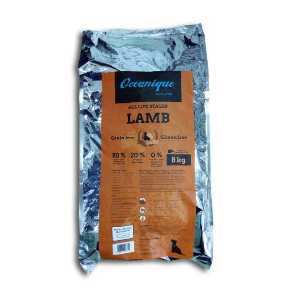 Oceanique Lamb Dog 8kg QE112