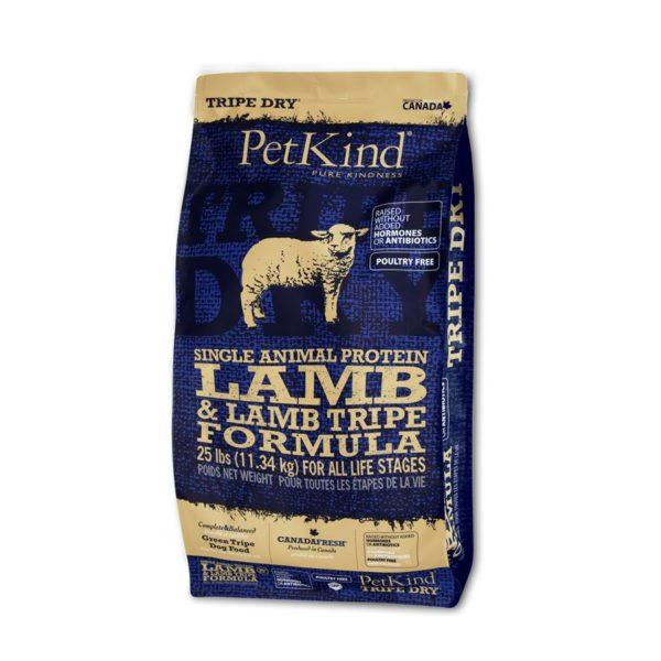 PetKind SAP Lamb & Tripe 25lb (11.34kg) PE1203