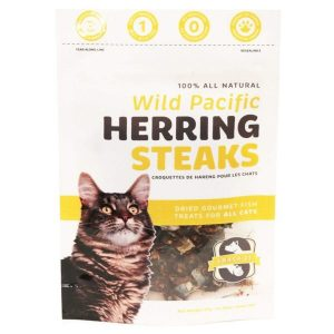 Snack 21 Wild Pacific Herring Steaks for CATS 25g SN202