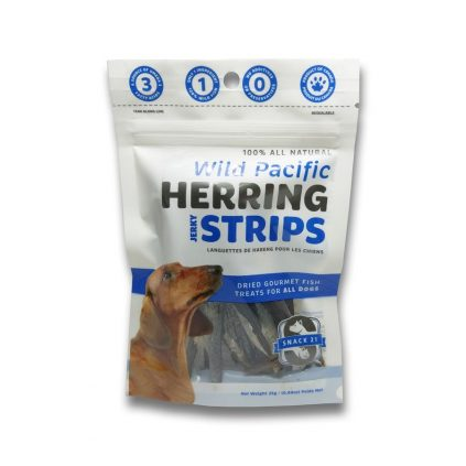 Snack 21 Wild Pacific Herring Strips for DOGS 25g SN102