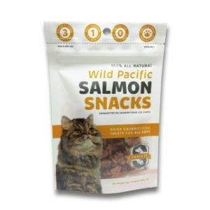 Snack 21 Wild Pacific Salmon Snacks for CATS 25g SN201