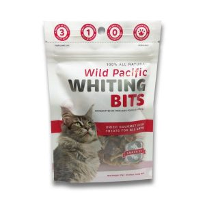 Snack 21 Wild Pacific Whiting Bits for CATS 25g SN203