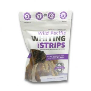 Snack 21 Wild Pacific Whiting Strips for DOGS 25g SN103
